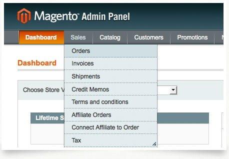 magento accounting integration