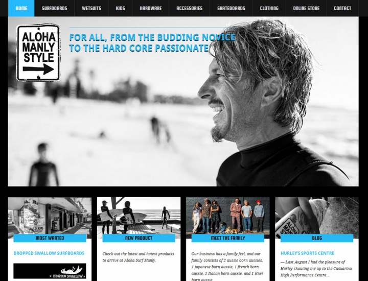 ALOHA SURF MANLY